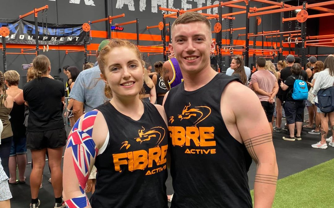 Tayla and Podge make Top 10 in RFX Summer Showdown
