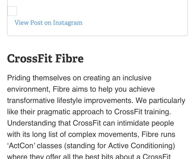 CrossFit Fibre 10 Best CrossFit Gyms in Perth – Menshealth Australia